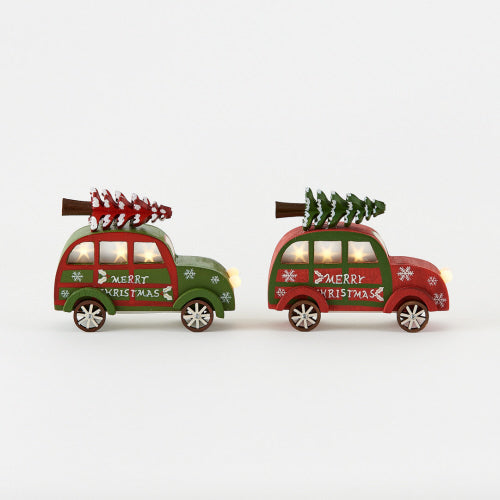Light Up Christmas Car Ornament