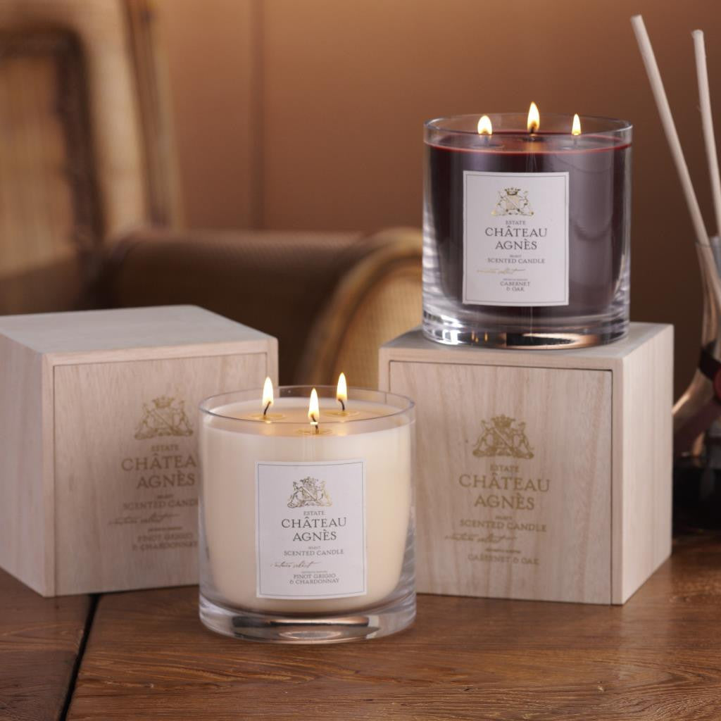 Chateau Agnes Wine Scented Candles - CARLYLE AVENUE