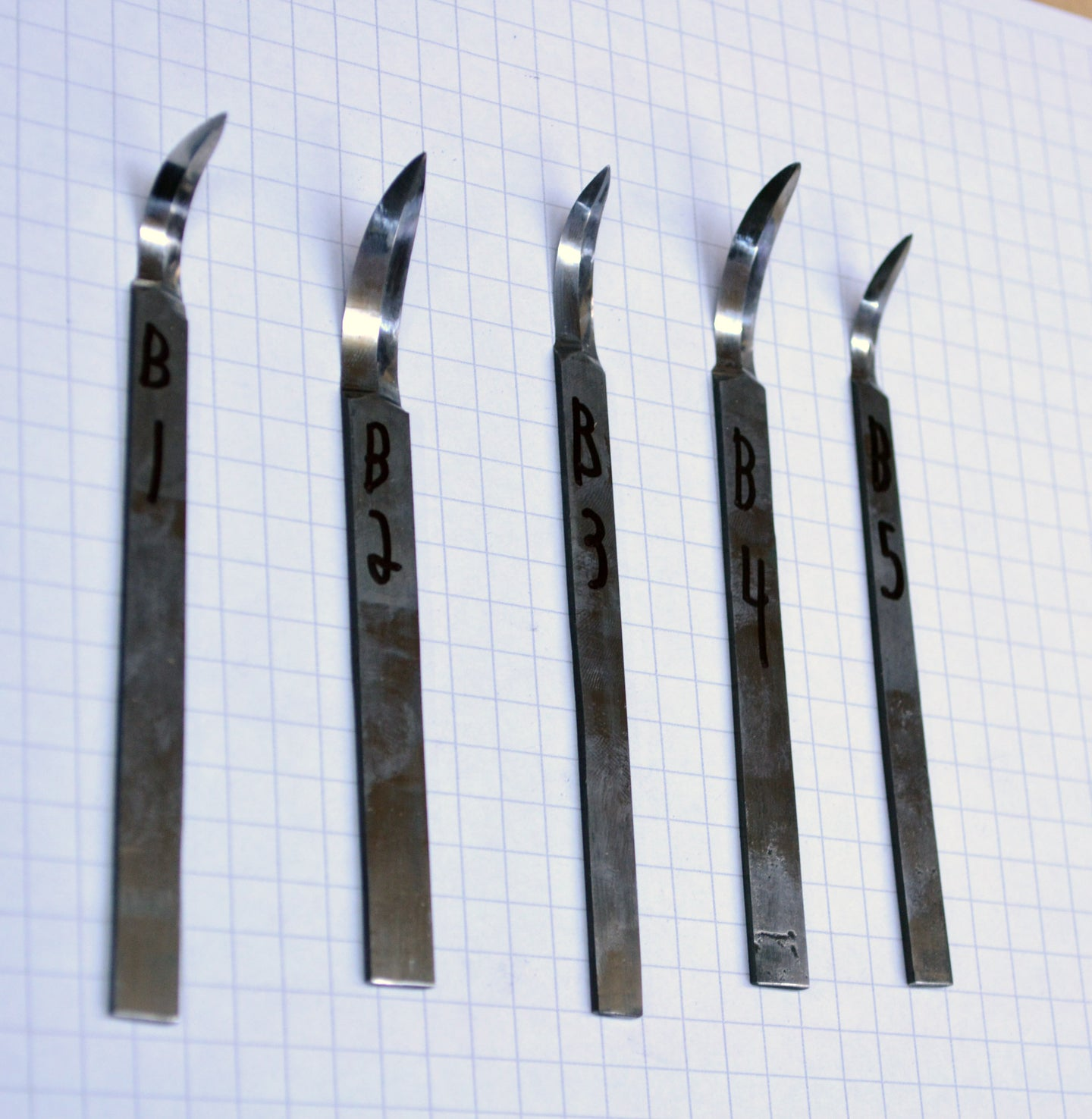 Hook Knife Blades Series B