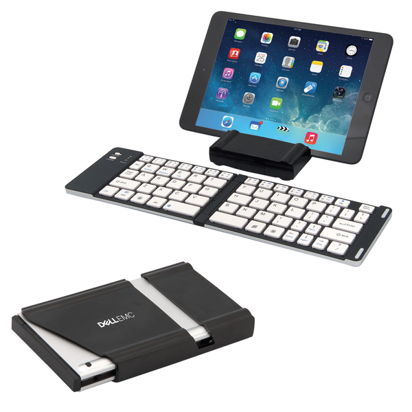 PORT-A-NOTE MINI FOLDING BLUETOOTH (R) WIRELESS KEYBOARD