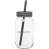 25 Oz Mason Jar With Color Lid