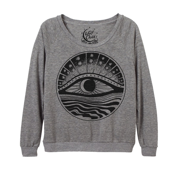 MOONRISING RAGLAN