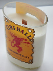 Fireball Whiskey Cinnamon Candle