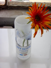 Grey Goose Bottle Flower Vase
