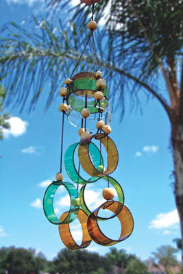 Wind Chimes Bottle Art Kit - Upcyling Bottle Art DIY Kit