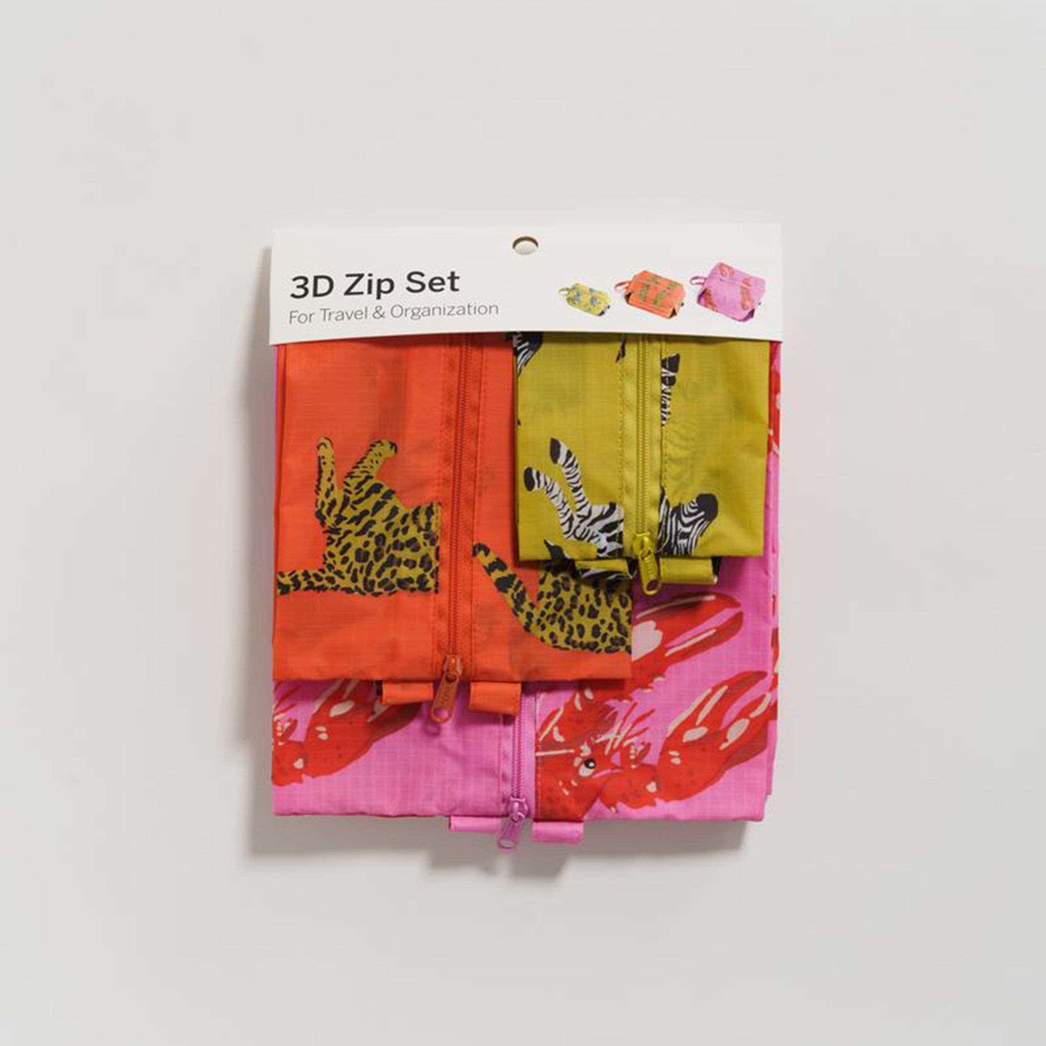 3D Zip Set - Fancy Animal