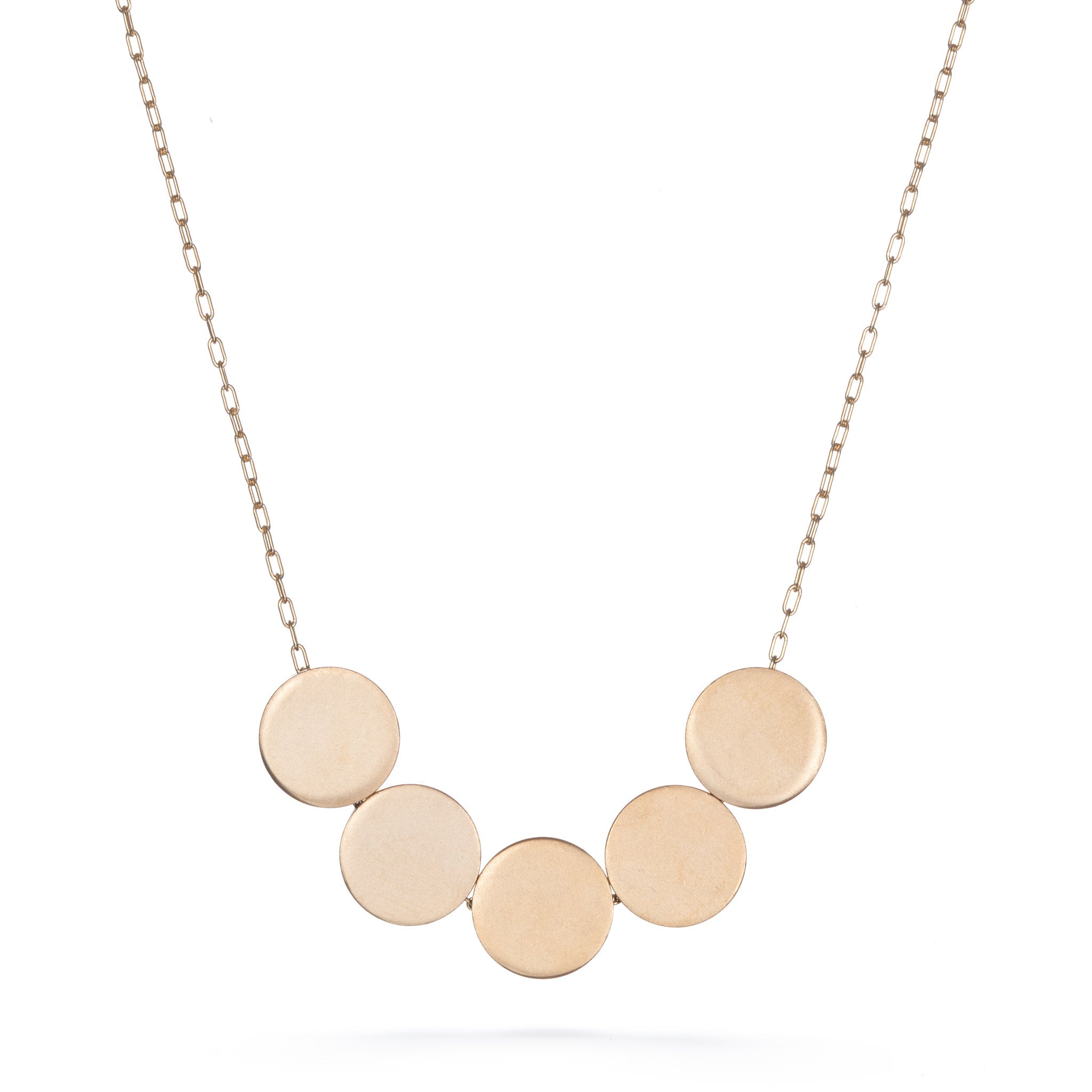Large 5 Dots Necklace