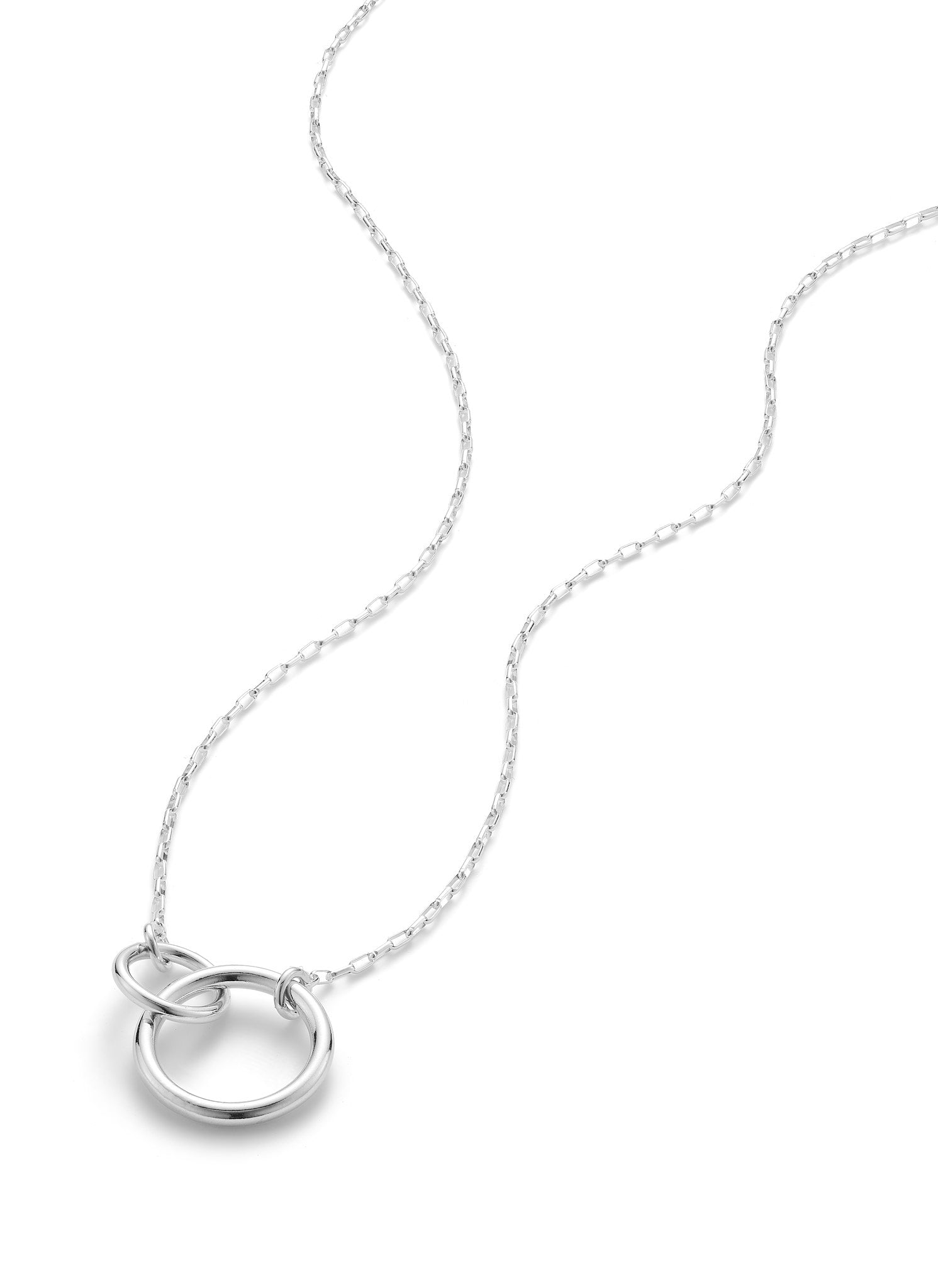 Besties Necklace - Silver