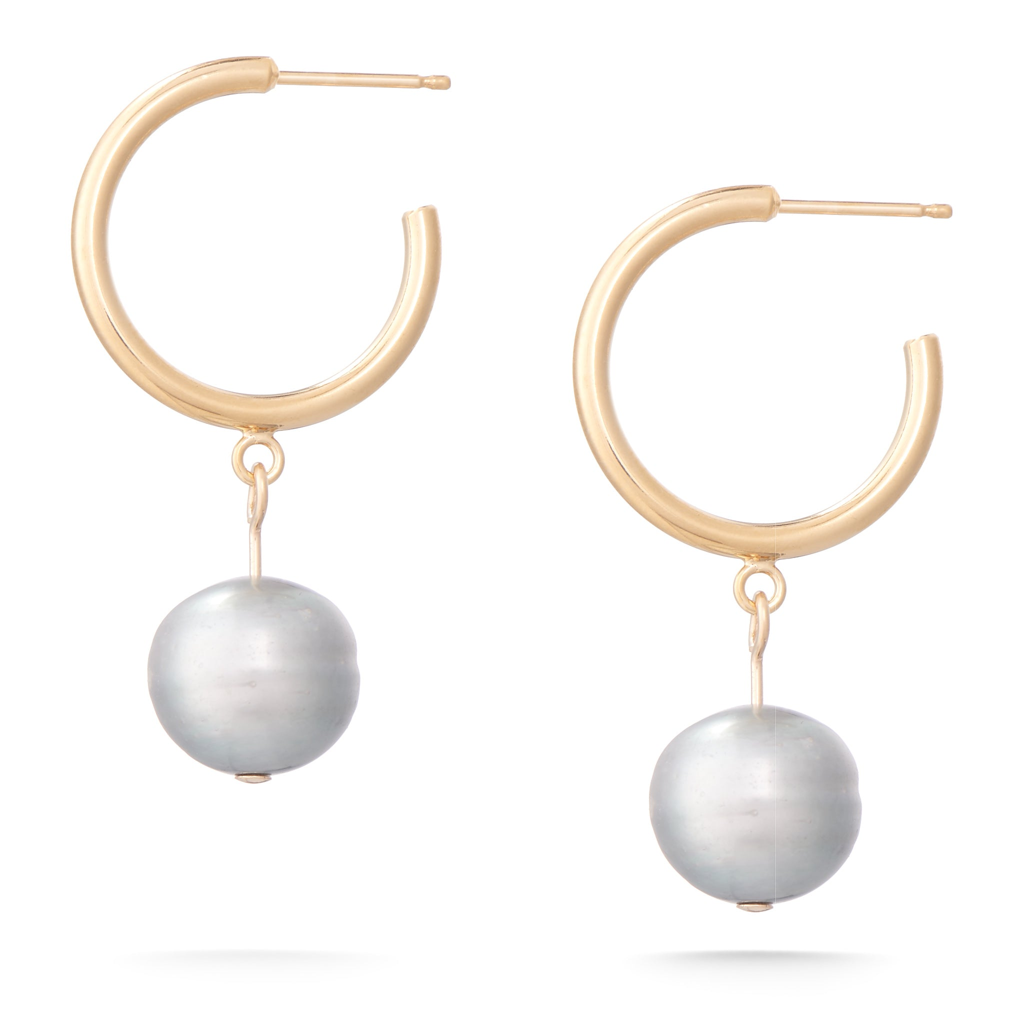 Dew Earrings - Grey