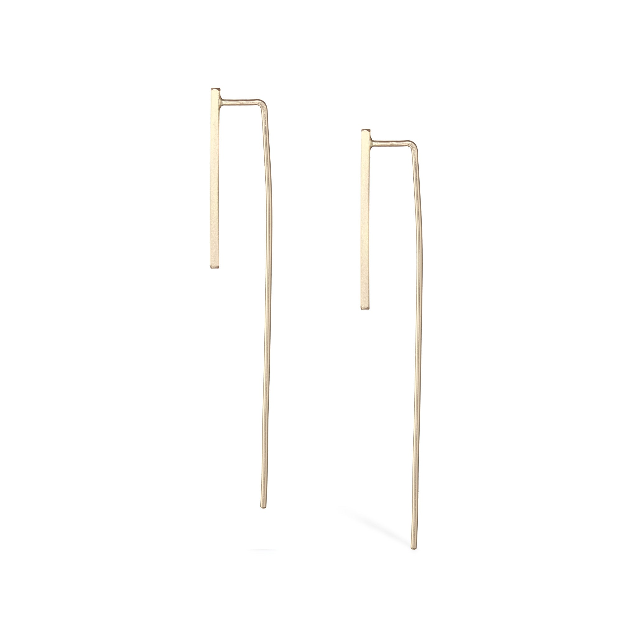 Long Tail Earrings - Gold