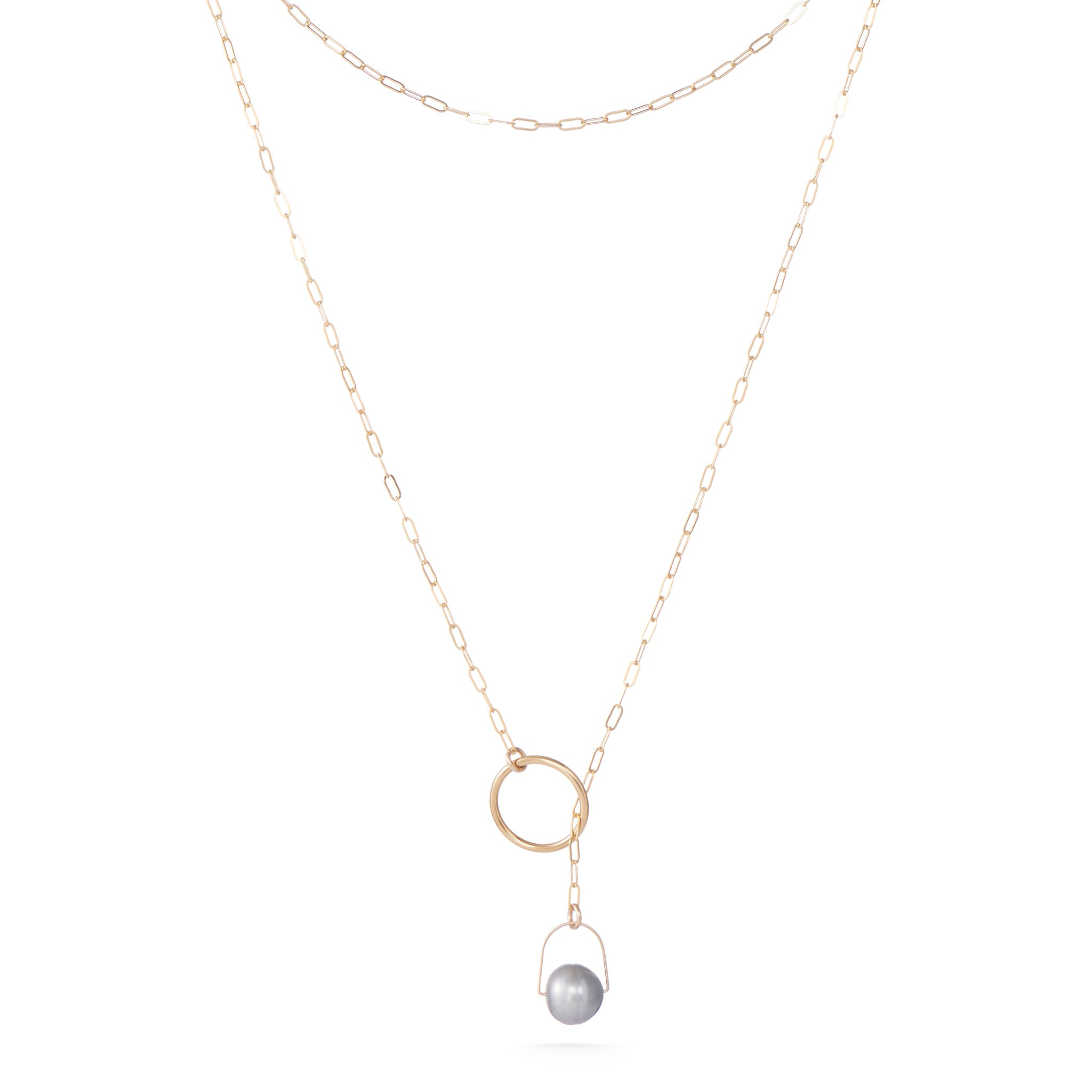 Lumen Necklace - Grey