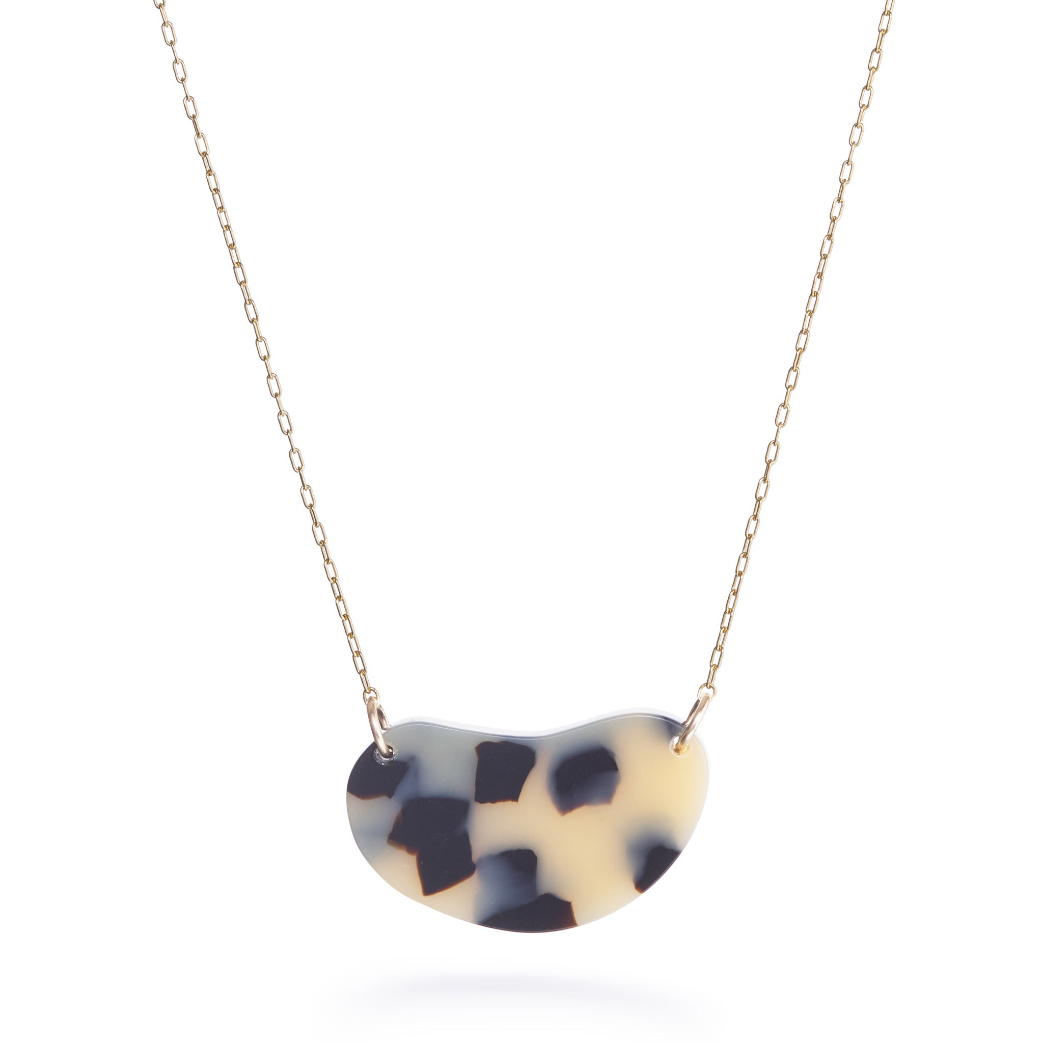 Zuki Necklace - Beige Tort