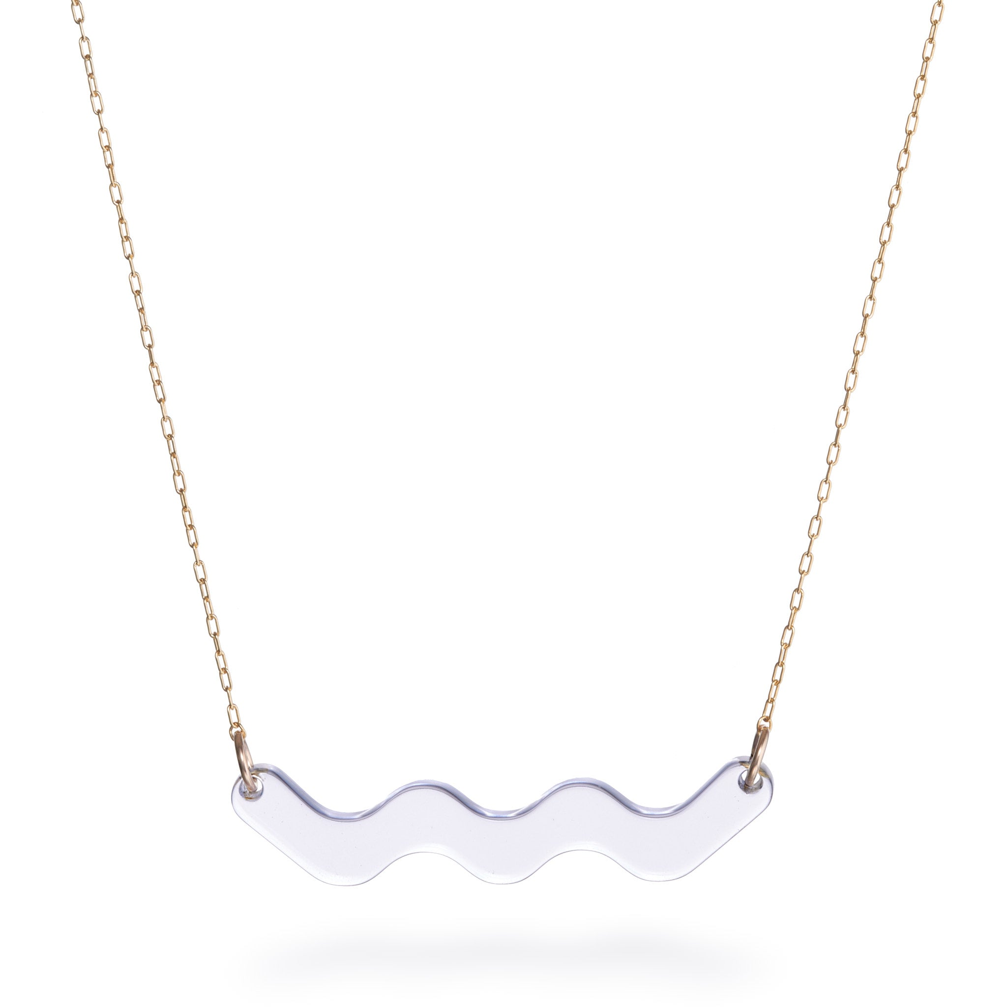 Motion Necklace - Clear