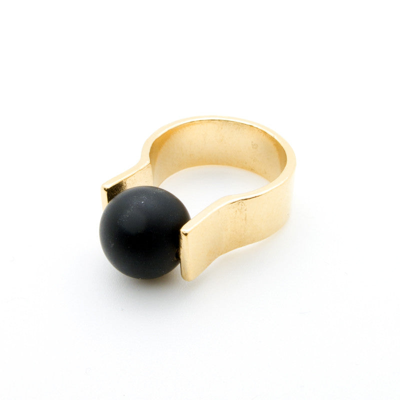 Orbit Ring - Onyx