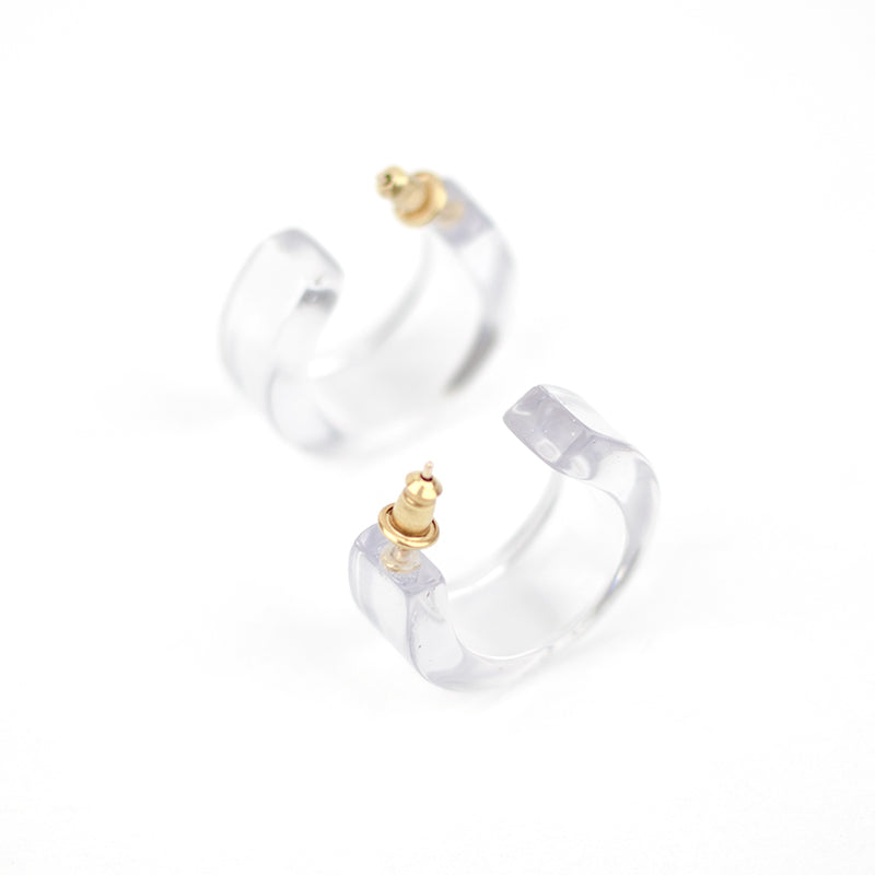 Pome Hoops - Clear