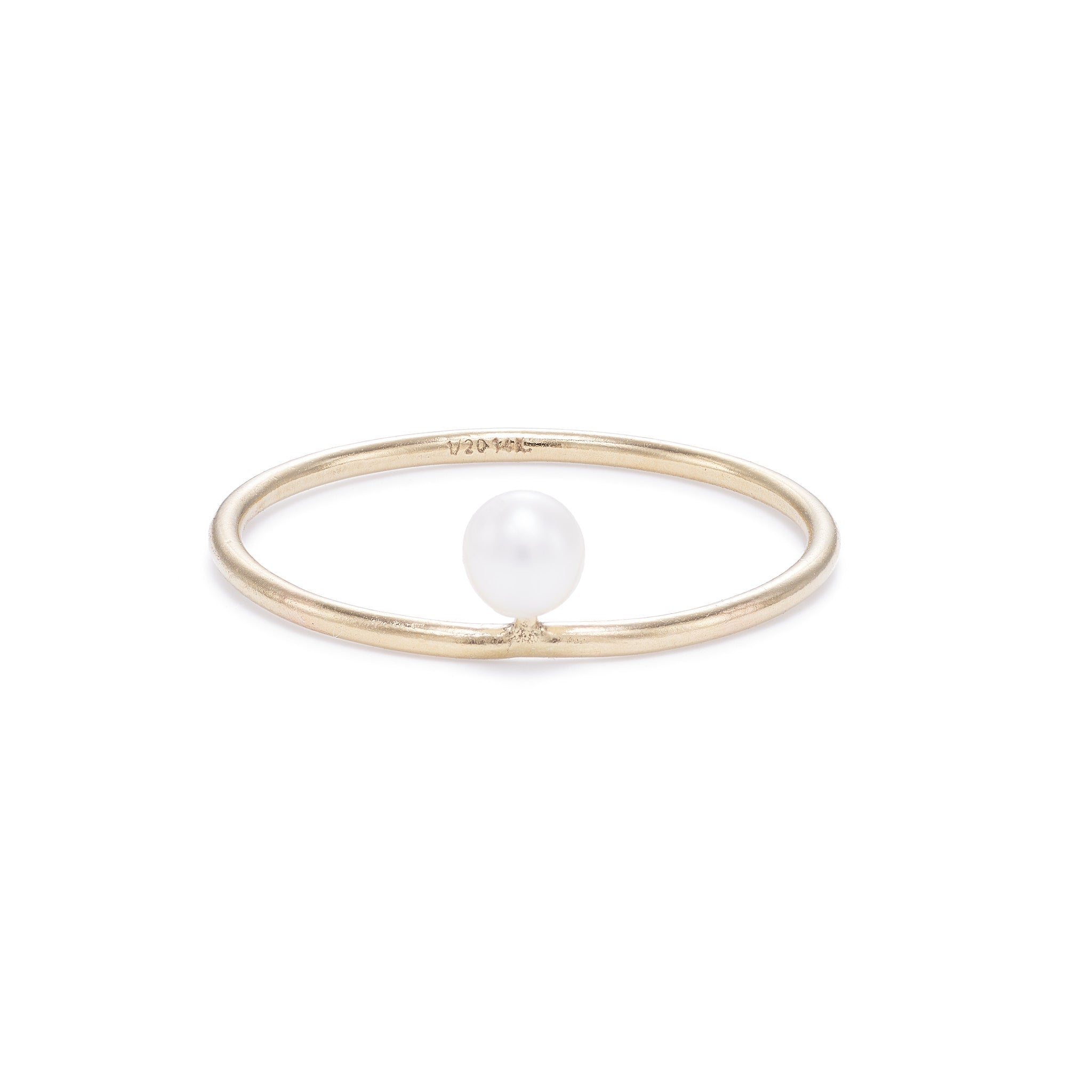 Ballerina Ring - White