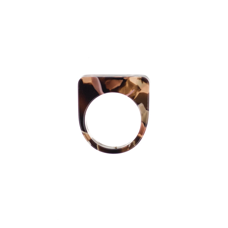 Level Ring - Rose Confetti