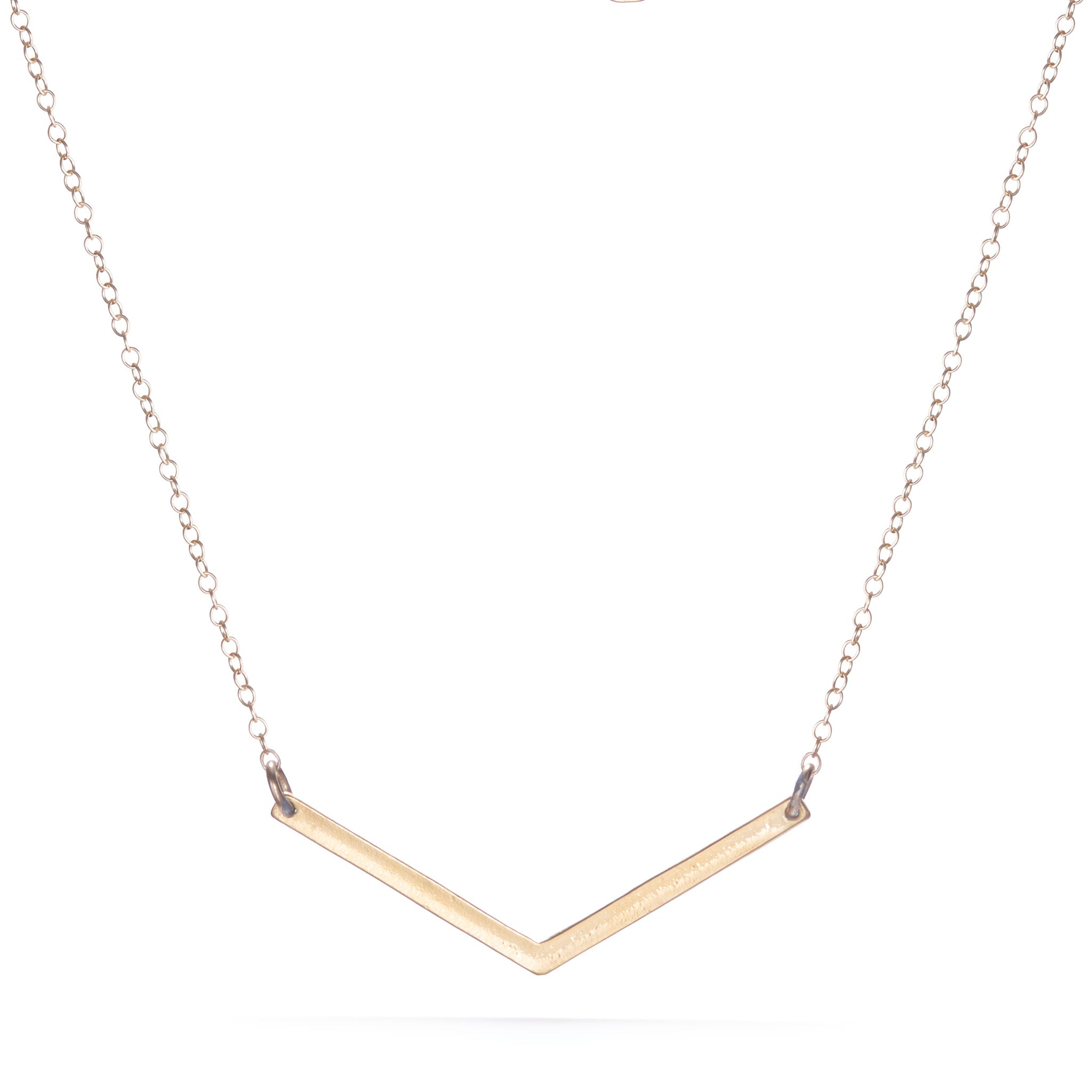 Small V Necklace