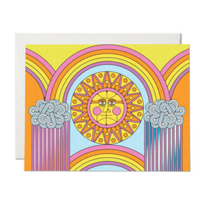 Sun and Rainbows Card