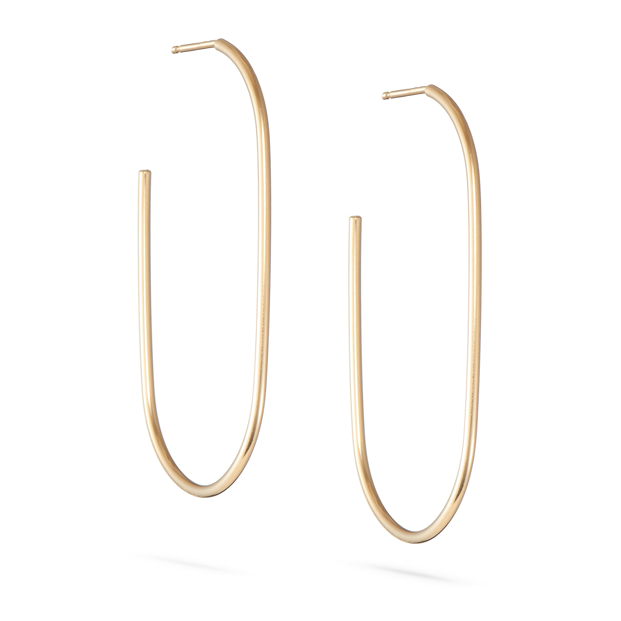 Tulip Hoops - Medium