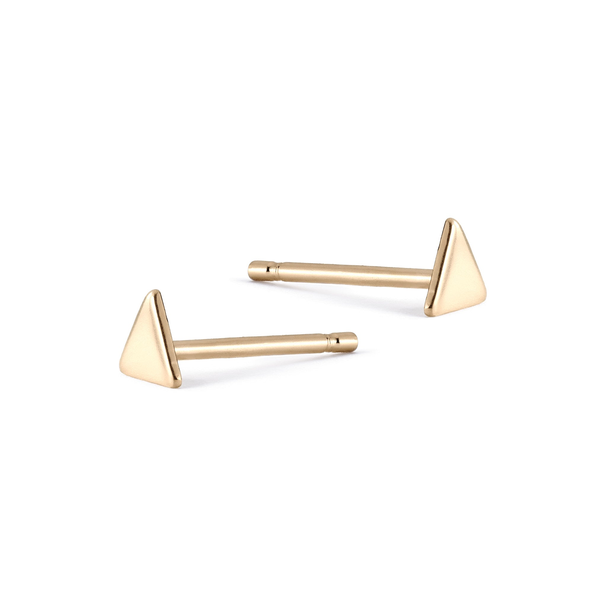 Teeny Tiny Triangle Studs