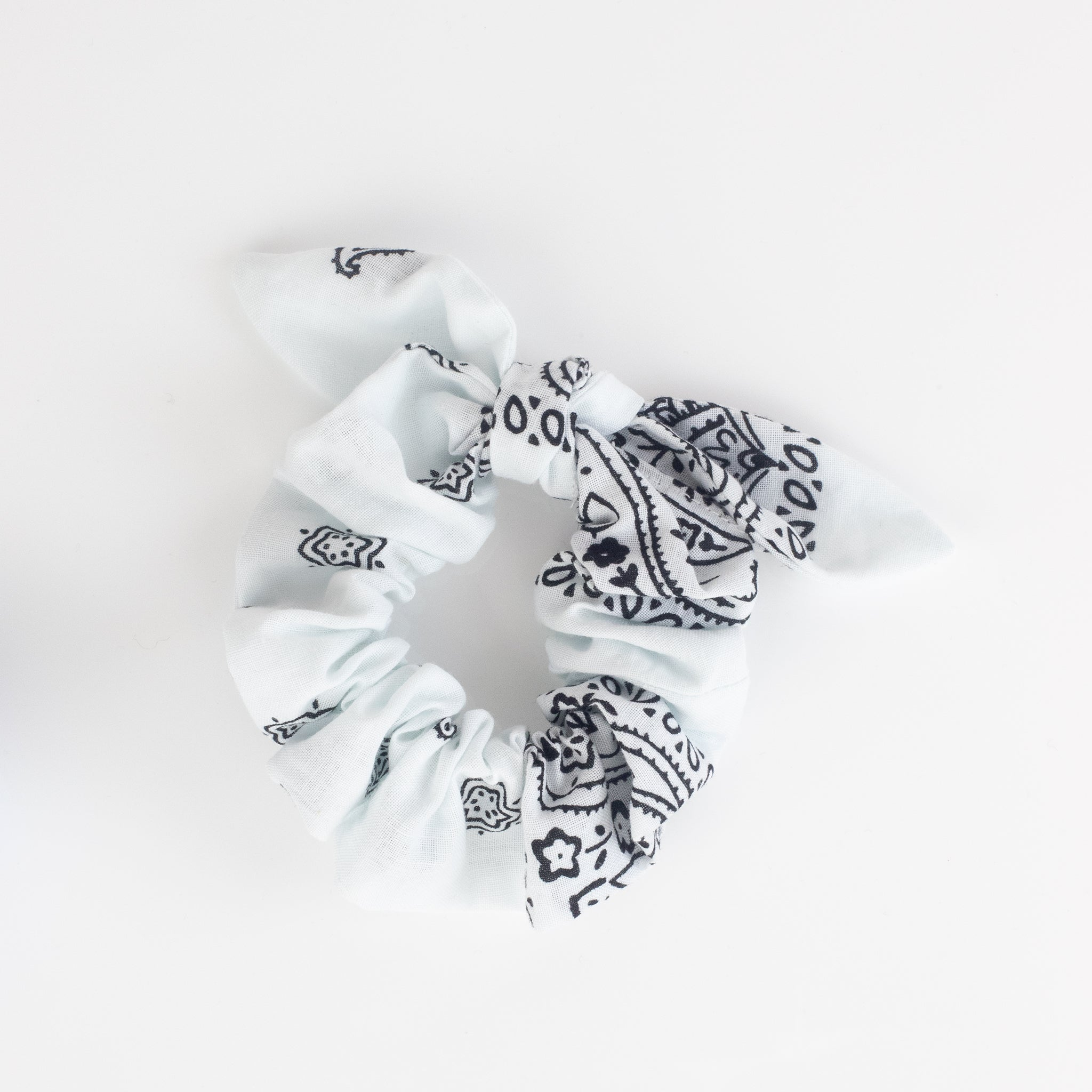 Bandana Scrunchie - White