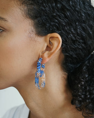 Catena Earrings - Blue Haze
