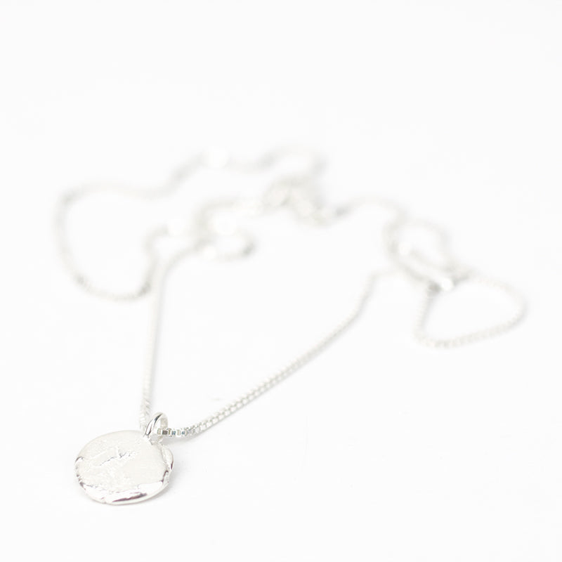 Silver Cache Necklace - Small