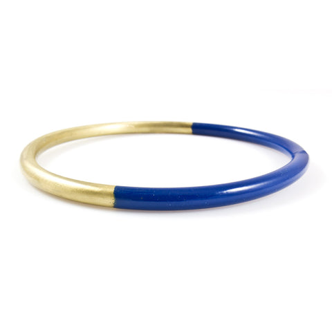 Cobalt Dipped Bangle