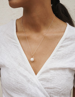 Kai Necklace - White