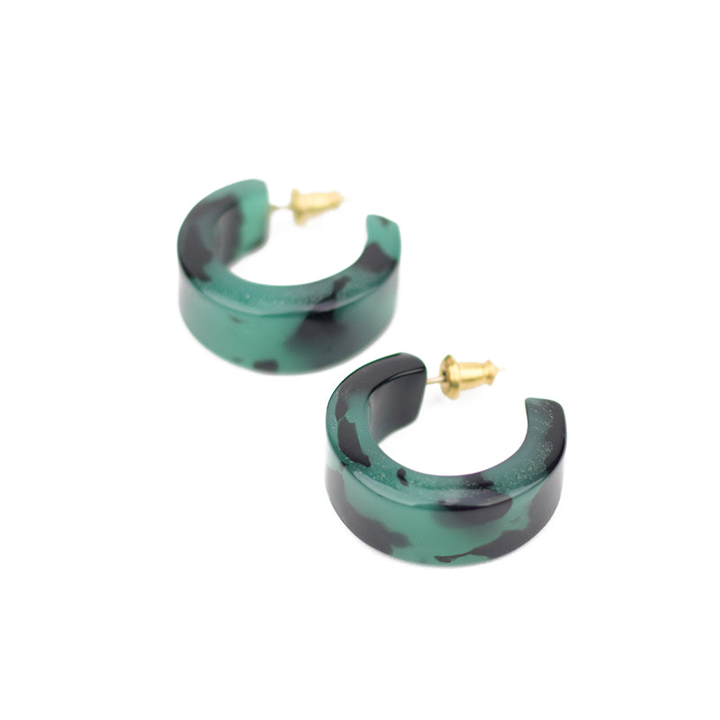 Pome Hoops - Green Tort