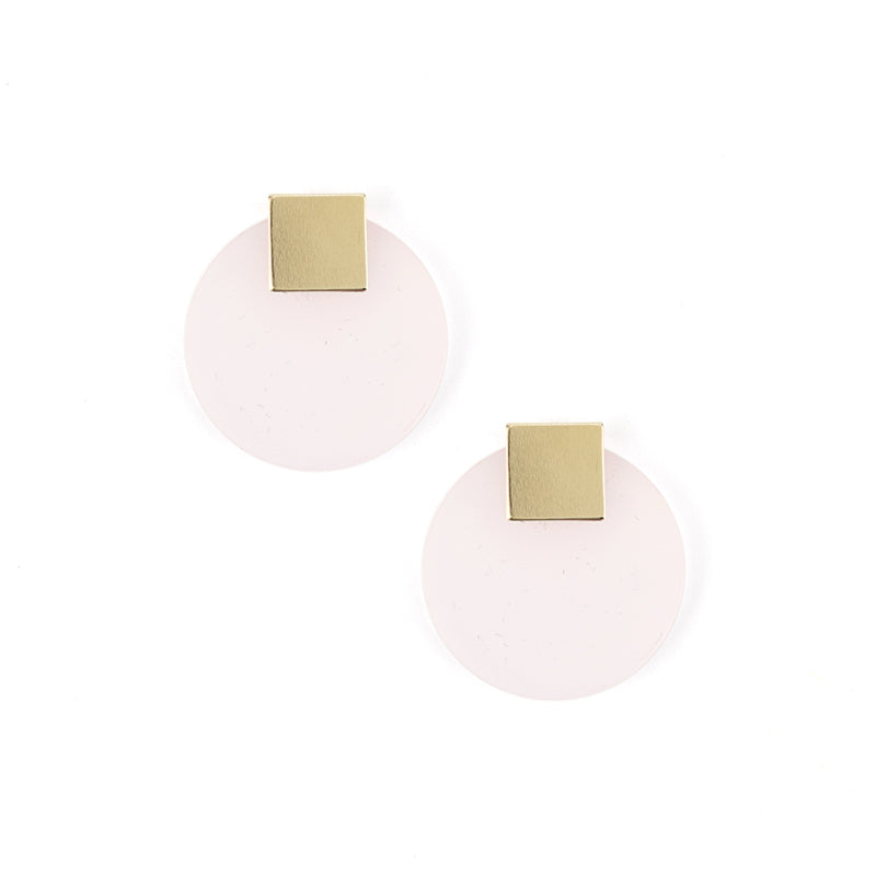 Kawaii Earrings - Pale Pink