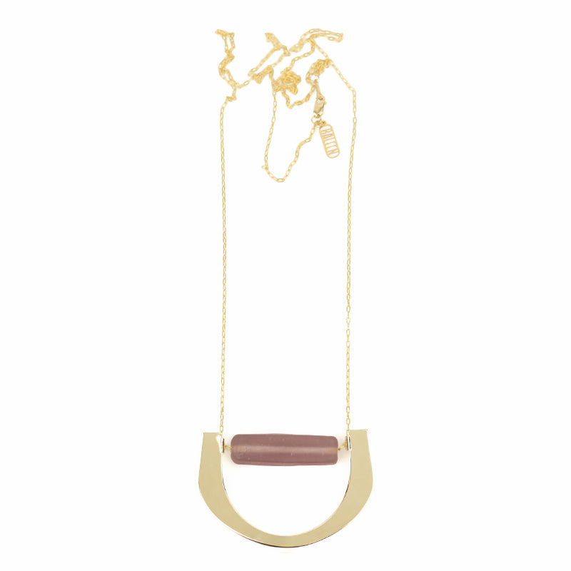 Level Necklace - Mauve