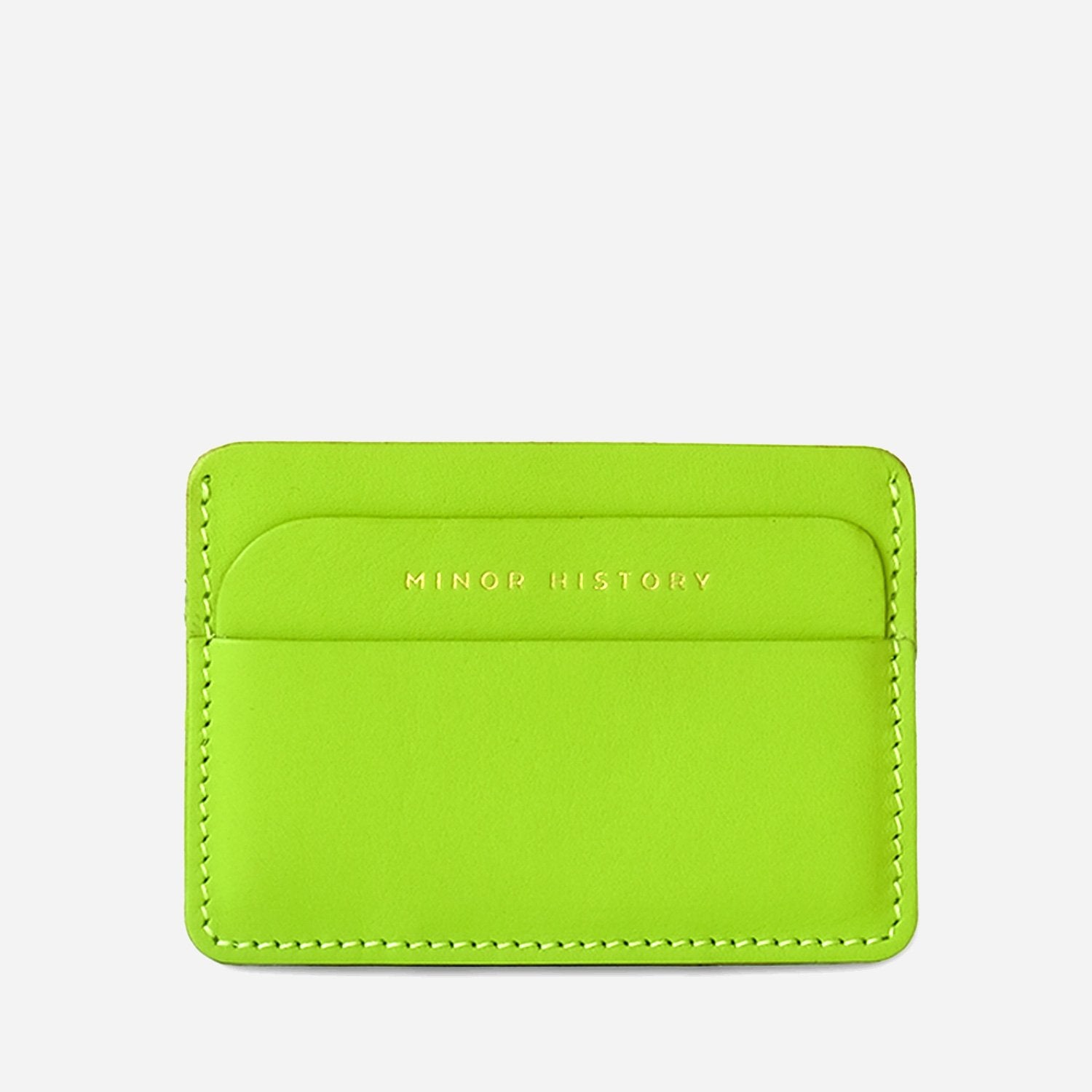 The Metro Slim CC Wallet - Lime