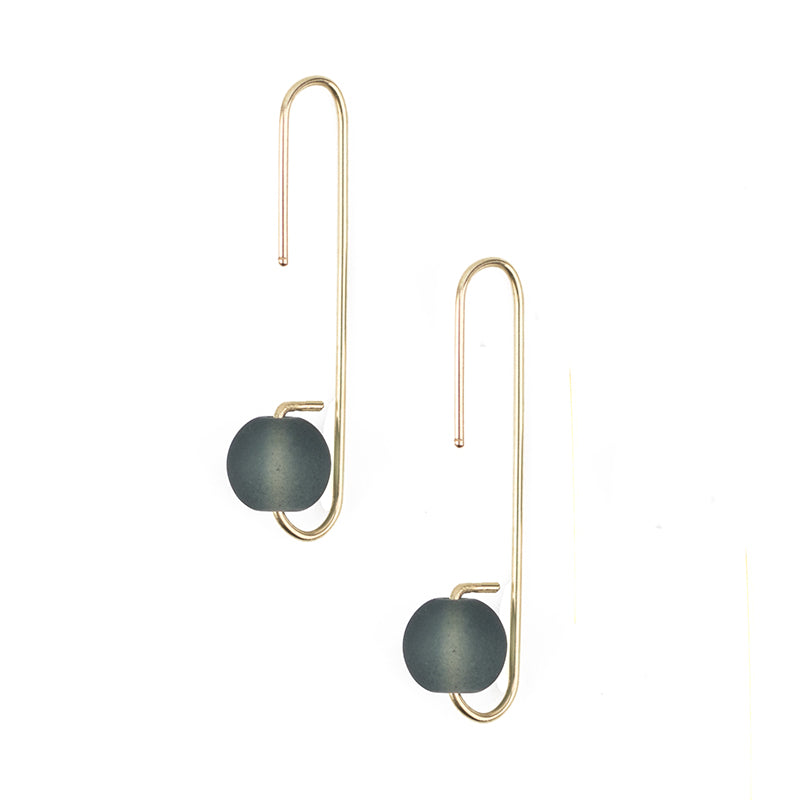 Lure Earrings - Smoke