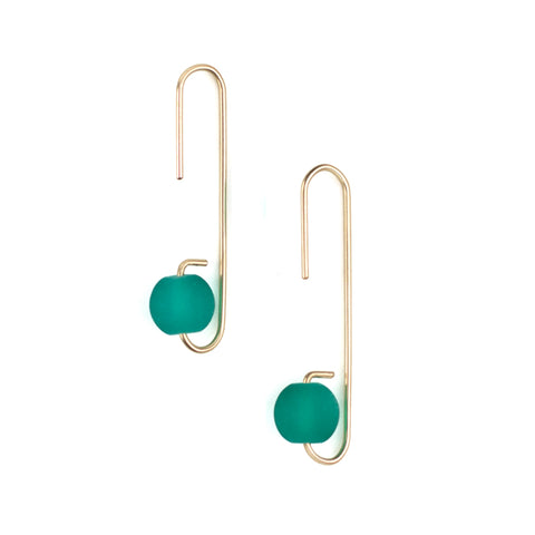 Lure Earrings - Palm