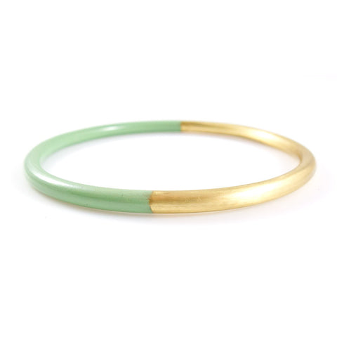 Mint Dipped Bangle