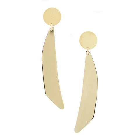 Moon Bean Earrings