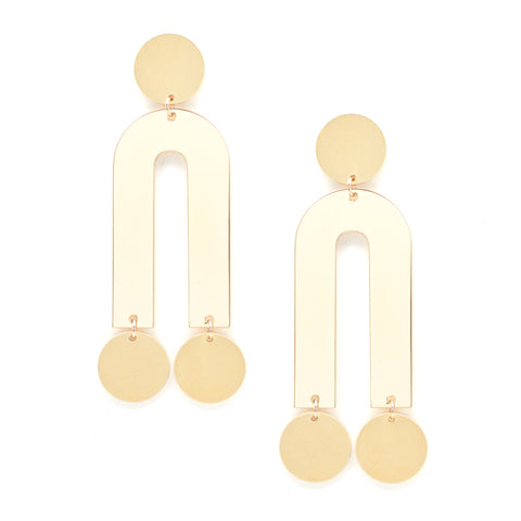 Passage Earrings - Gold