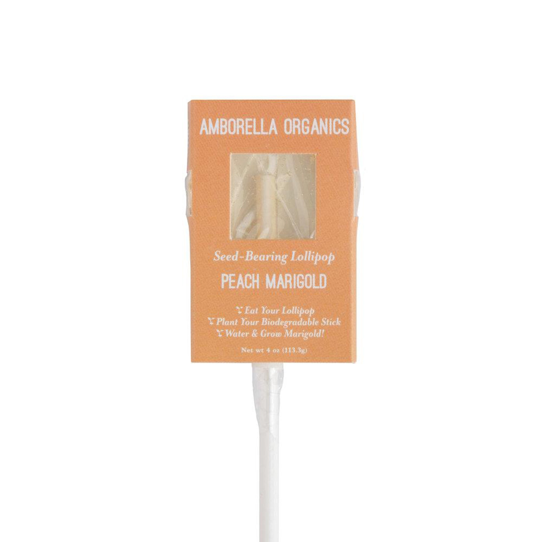 Peach & Marigold Lollipop