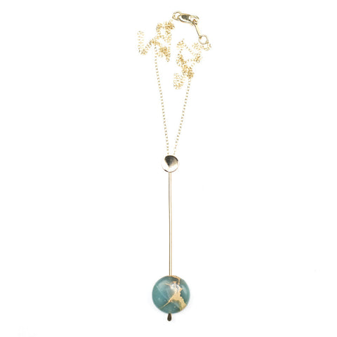 Pendulum Necklace - Jasper