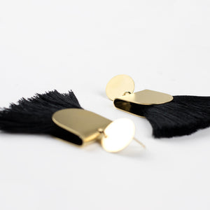 Pinna Earrings - Black