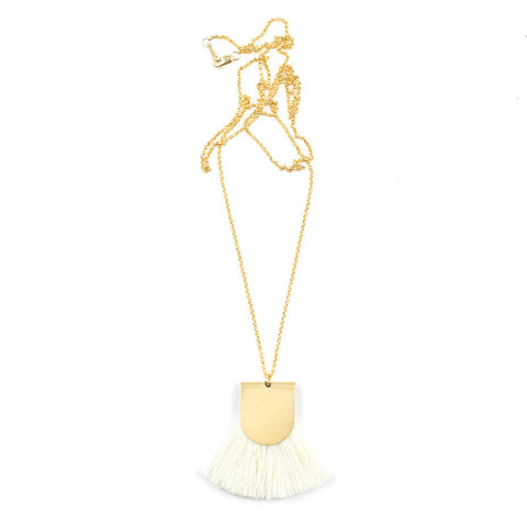 Pinna Necklace - Cream