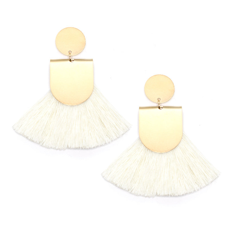 Pinna Earrings - Cream