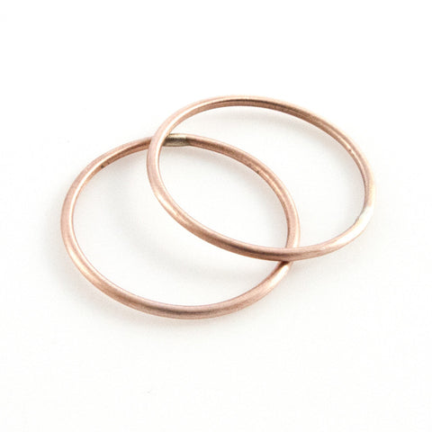 Stacking Rings - Rose Gold