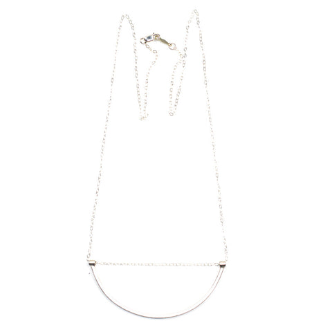 U-Sling Necklace - Silver