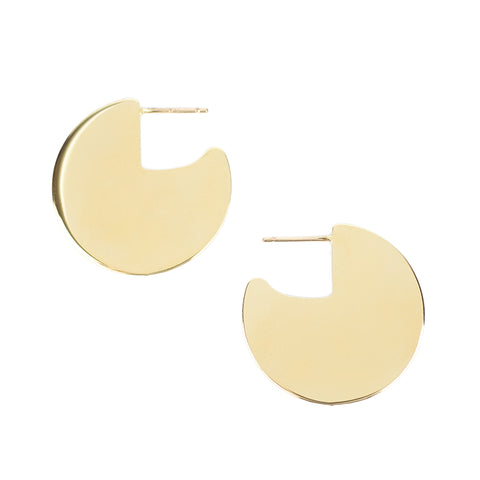 Small Meridian Earrings - Gold