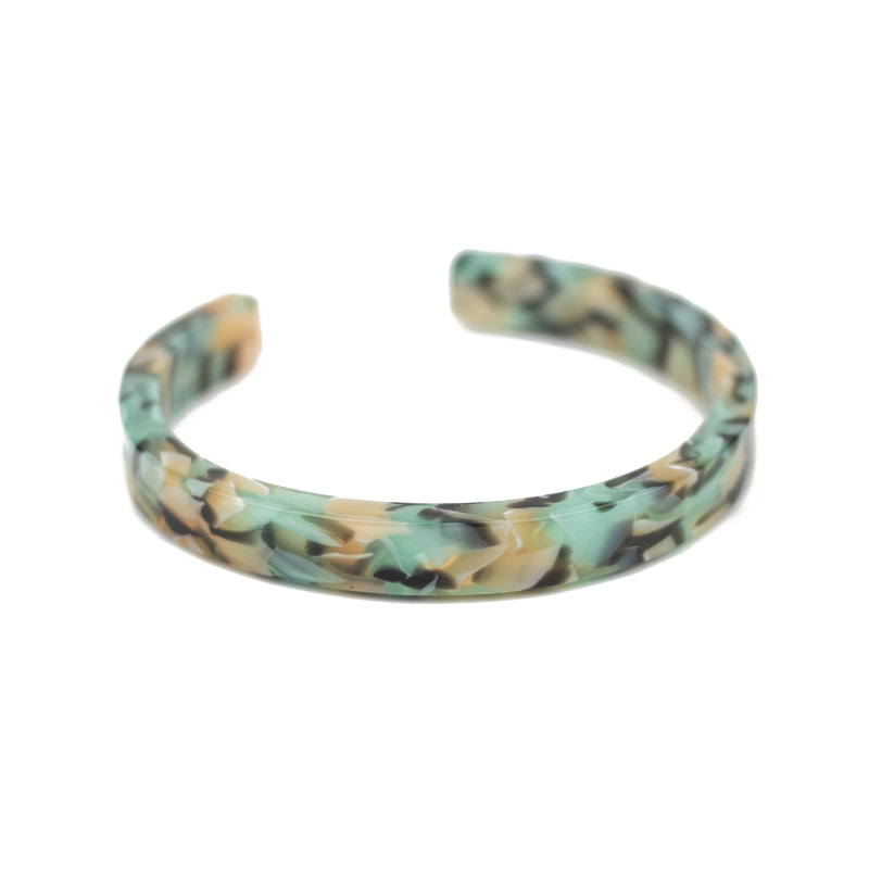Simple Cuff - Teal Confetti