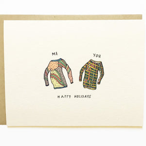 Ugly Sweaters Card
