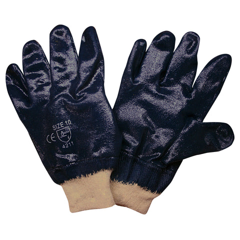 Nitrile Supported Gloves
